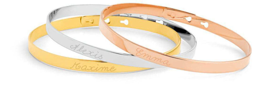 bracelet avec prénom
